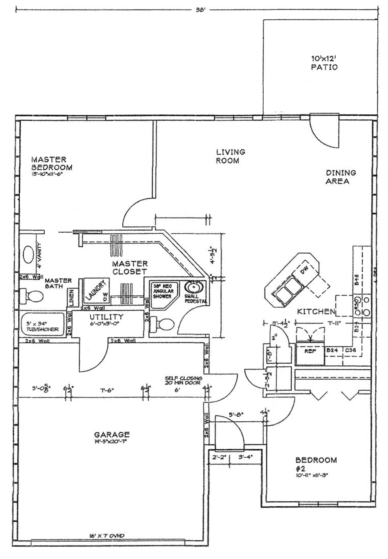 Home north ridge cottages for Floor plan cost estimator